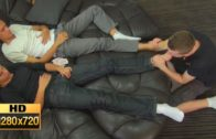 Young Slave Lick 2 Boys Feet HD