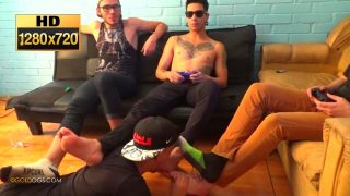 3 Hot Latinos Feet Slave And Ignored Part 1